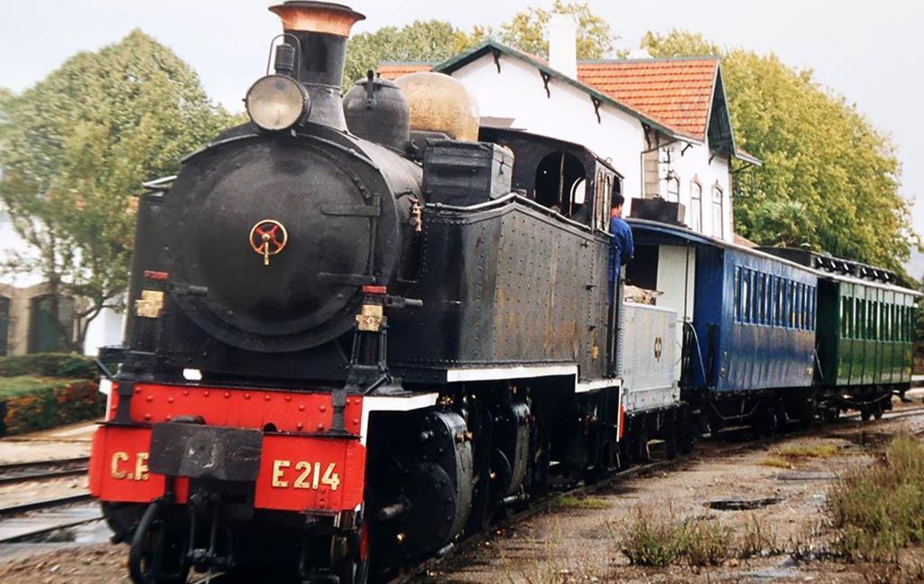 Comboio Histórico em Macinhata do Vouga Maio 2021